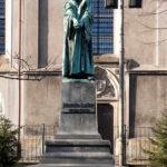 Jedyny w Polsce pomnik Marcina Lutra