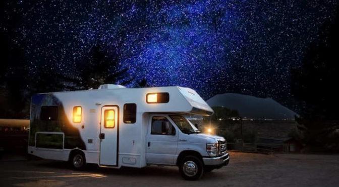 Parking dla kamperów by przyciągnąć turystów