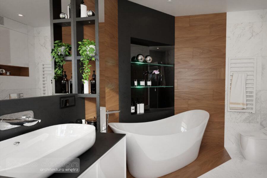 Maksymalne wykorzystanie przestrzeni w łazience