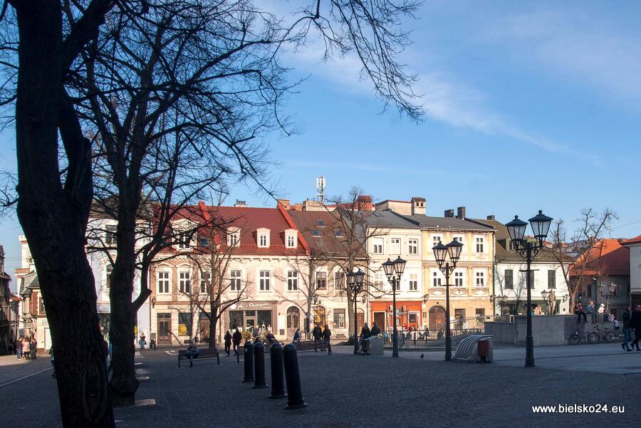 Rynek w Bielsku