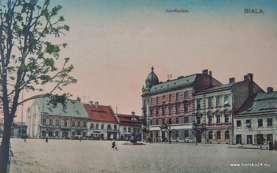Plac Wolności rok 1905