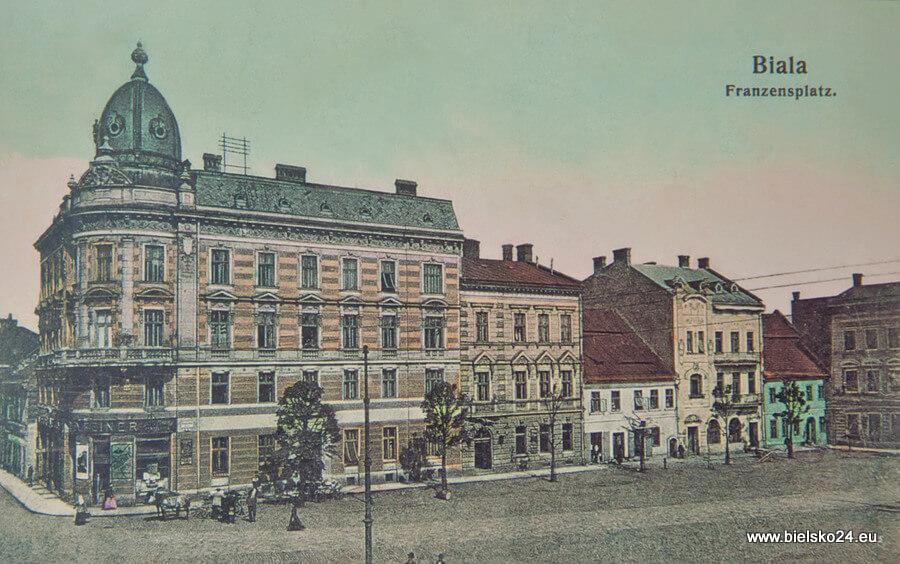 Plac Wolności rok 1907