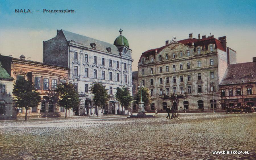 Plac Wolności rok 1913